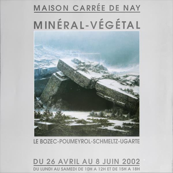 """Exposition """"Minéral / Végétal"""" à la Maison Carrée de Nay"""
