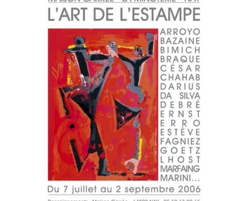Exposition L'Art de l'Estampeà la Maison Carrée de Nay